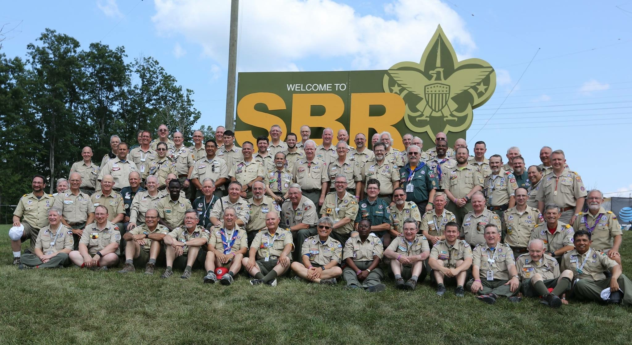 Jambo chaplain group picture